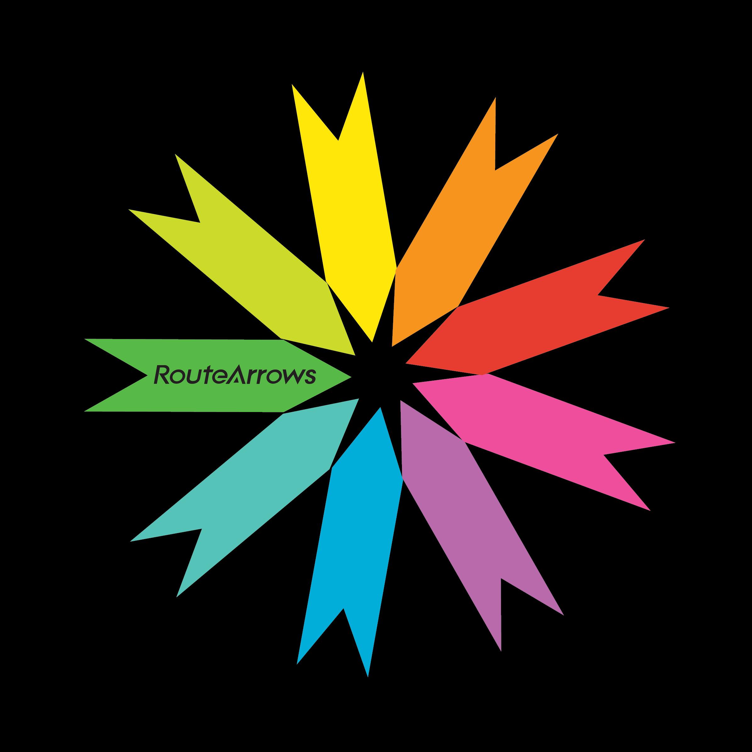 RouteArrows Star Logo